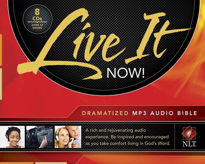 Live It Now! Dramatized Audio NLT Bible Mp3 (CD-Audio)