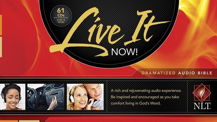 Live It Now! Dramatized Audio CD Bible NLT (CD-Audio)