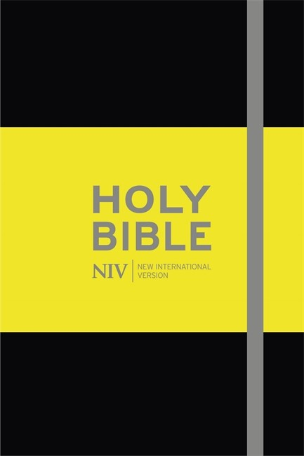 NIV Pocket Black Notebook Bible (Hard Cover)