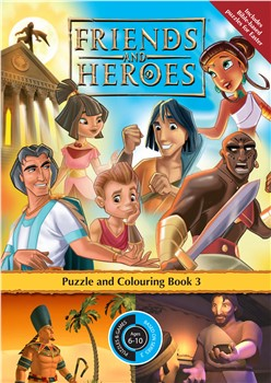 Friends & Heroes Puzzle Book 3 (Paperback)