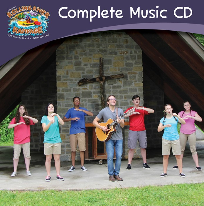 VBS 2018 Rolling River Rampage Complete Music CD (CD-Audio)