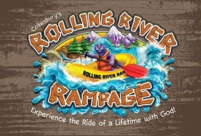 VBS 2018 Rolling River Rampage Invition Postcards (Postcard)