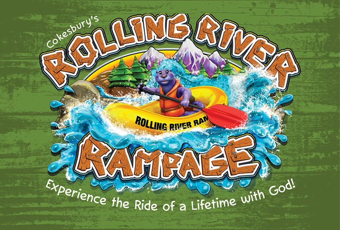 VBS 2018 Rolling River Rampage Thank You Postcards (Postcard)