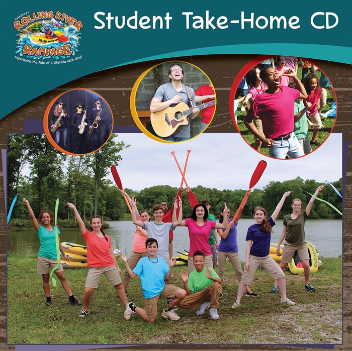 VBS 2018 Rolling River Rampage Student Take-Home CD (CD-Audio)