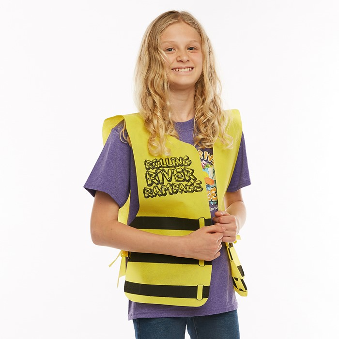 VBS 2018 Rolling River Rampage Tie-On Life Vest (General Merchandise)
