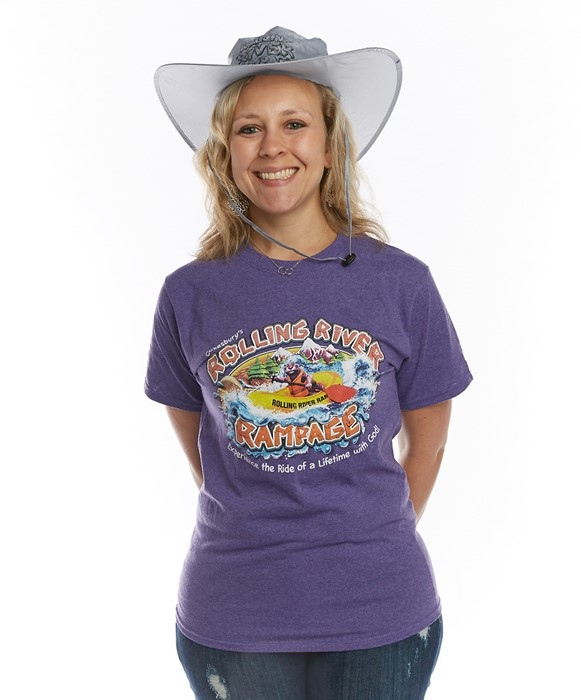 VBS 2018 Rolling River Rampage Leader T-Shirt, Small (General Merchandise)