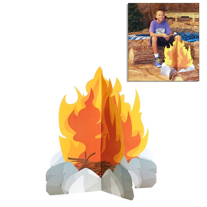 VBS 2018 Rolling River Rampage 3D Campfire Certificate (Certificate)