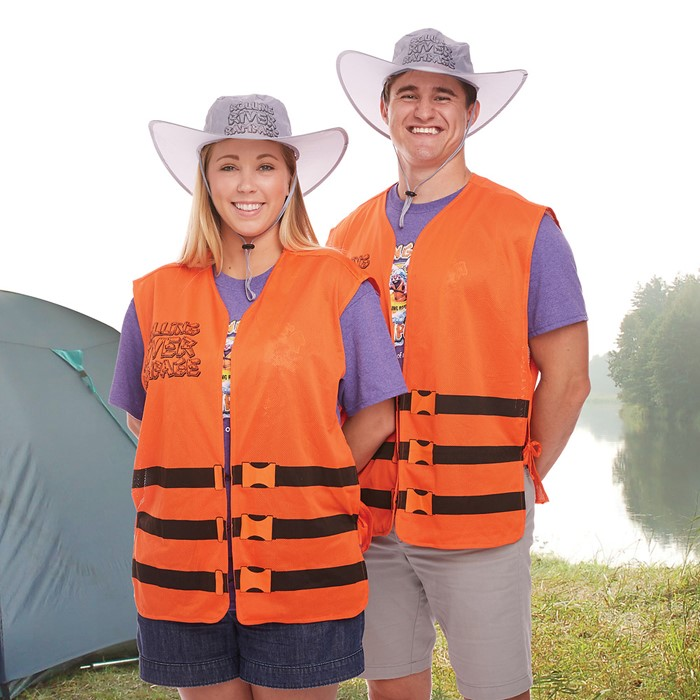 VBS 2018 Rolling River Rampage River Guide Life Vest (General Merchandise)
