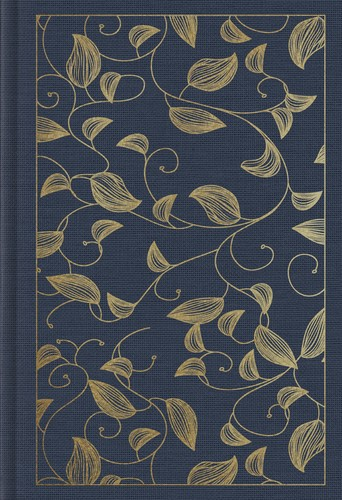 ESV Student Study Bible, Cloth over Board, Navy, Vine Design (Cloth-Bound)