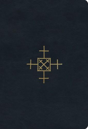 ESV Student Study Bible, TruTone, Navy, Cross of Christ (Imitation Leather)