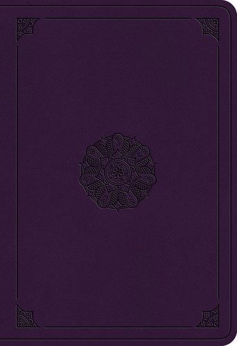 ESV Student Study Bible, TruTone, Lavender, Emblem Design (Imitation Leather)