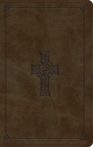 ESV Large Print Personal Size Bible, TruTone, Olive (Imitation Leather)