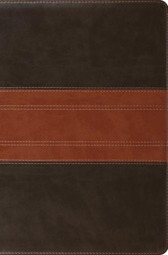 ESV Compact Bible, TruTone, Forest/Tan, Trail Design (Imitation Leather)