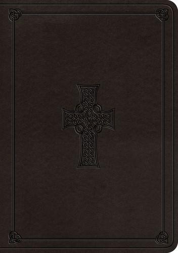 ESV Single Column Journaling Bible, Large Print, Charcoal (Imitation Leather)