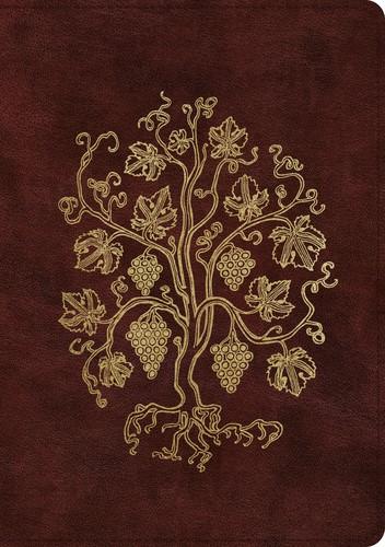 ESV Single Column Journaling Bible, Large Print, Burgundy (Imitation Leather)
