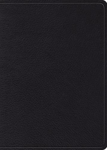 ESV MacArthur Study Bible, Black (Genuine Leather)
