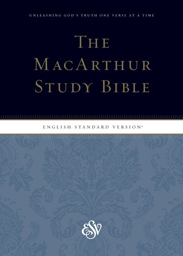 ESV MacArthur Study Bible, Indexed (Hard Cover)