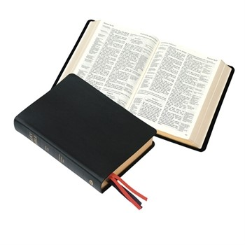 KJV Westminster Reference Bible With Metrical Psalms (Calfskin)