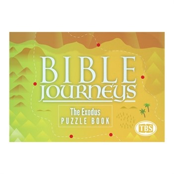 Bible Journeys: The Exodus Puzzle Book (Paperback)