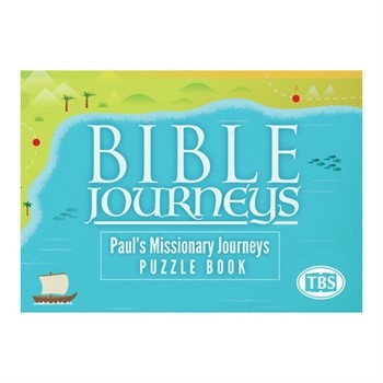 Bible Journeys: Paul's Missionary Puzzle Book (Paperback)