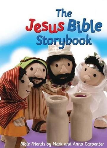 The Jesus Bible Storybook (Board Book)