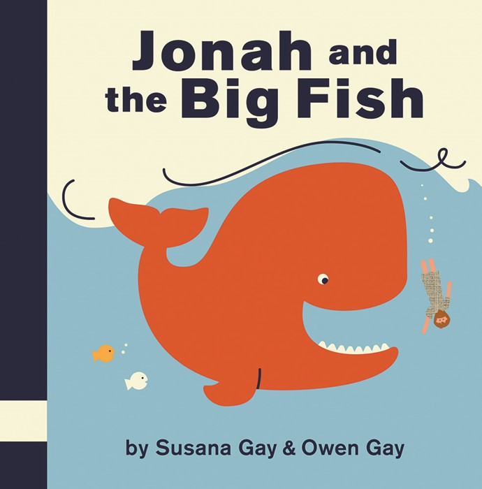 Jonah And The Big Fish (Board Book)