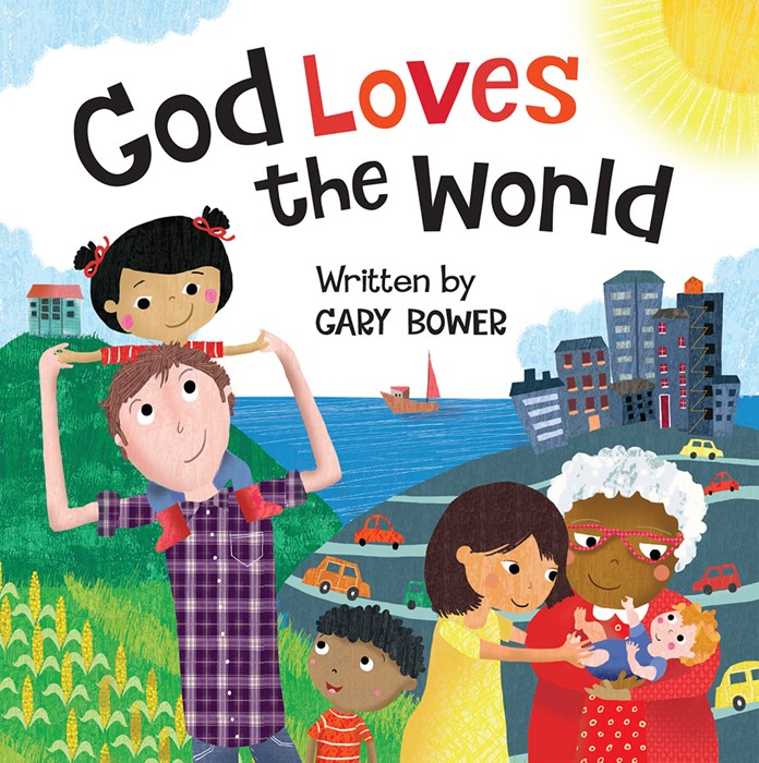God Loves The World (Board Book)