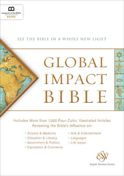 ESV Global Impact Bible, Hardcover (Hard Cover)