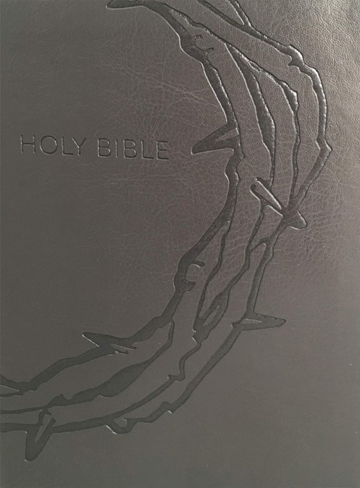 KJV Sword Study Bible, Large Print, Charcoal (Imitation Leather)