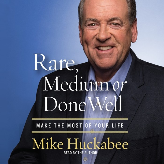 Rare, Medium Or Done Well Audio Book (CD-Audio)