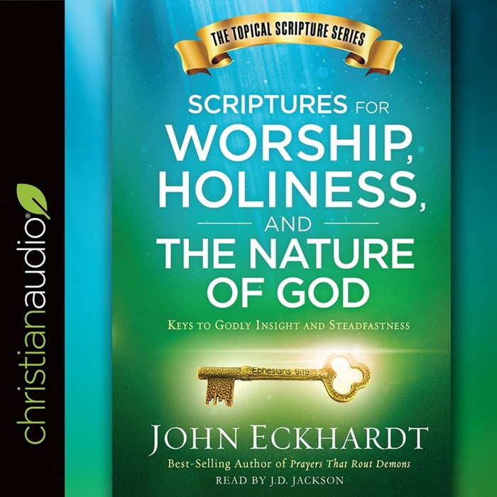 Scriptures For Worship, Holiness, & The Nature Of God Audio (CD-Audio)