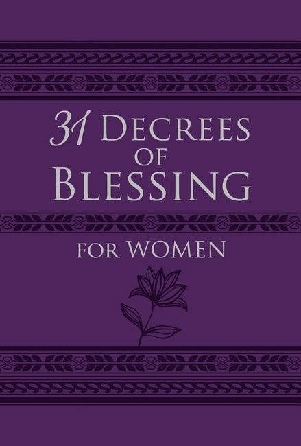 31 Decrees of Blessings For Women (Imitation Leather)