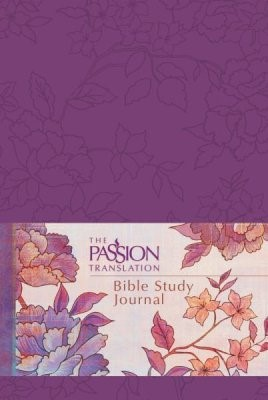 Passion Translation Bible Study Journal, Peony (Imitation Leather)