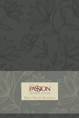 Passion Translation Bible Study Journal, Floral