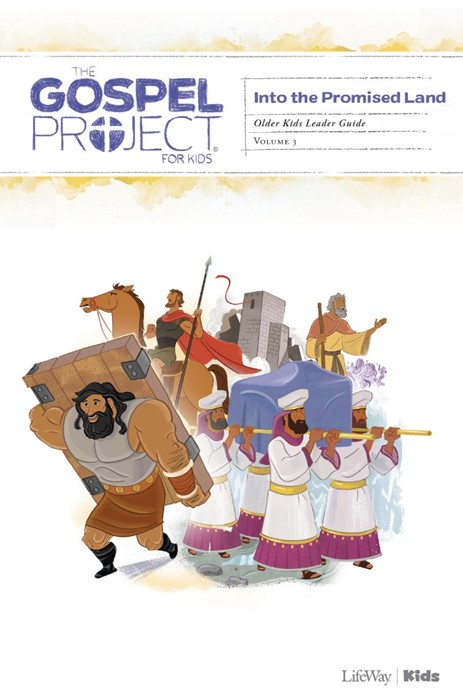 Into The Promised Land Older Kids Leader Guide, Volume 3 (Paperback)