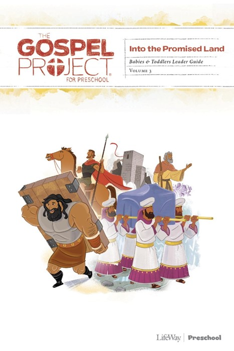 Into The Promised Land Toddlers Leader Guide, Volume 3 (Paperback)