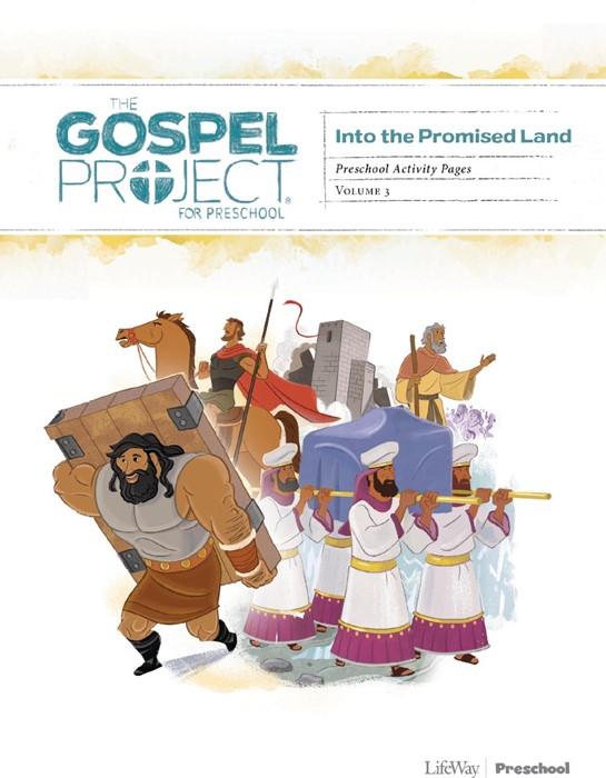 Into The Promised Land Preschool Activity Pages, Volume 3 (Paperback)
