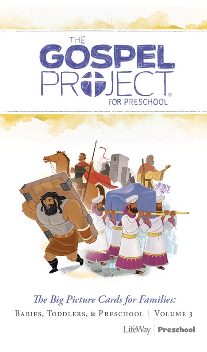 Into The Promised Land Preschool Big Piture Cards, Volume 3 (Cards)