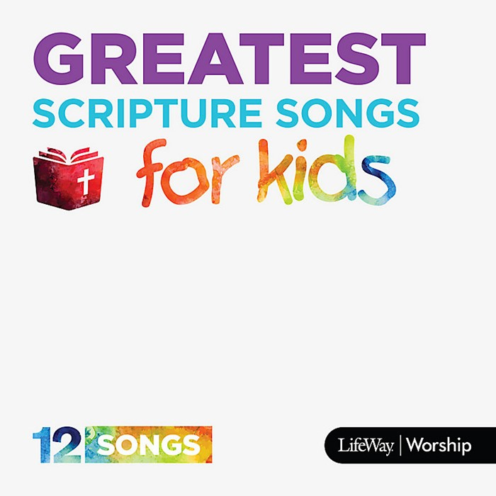 Greatest Scripture Songs For Kids CD (CD-Audio)
