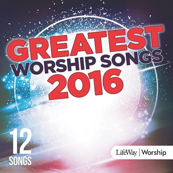 Greatest Worship Songs Of 2016 CD (CD-Audio)