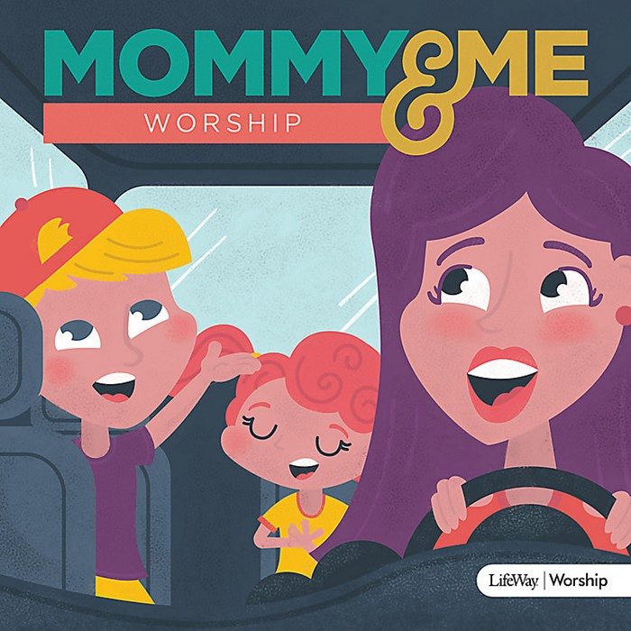Mommy And Me Worship CD (CD-Audio)
