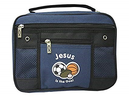 Jesus Is The Goal Canvas Bible Cover, Large (Bible Case)