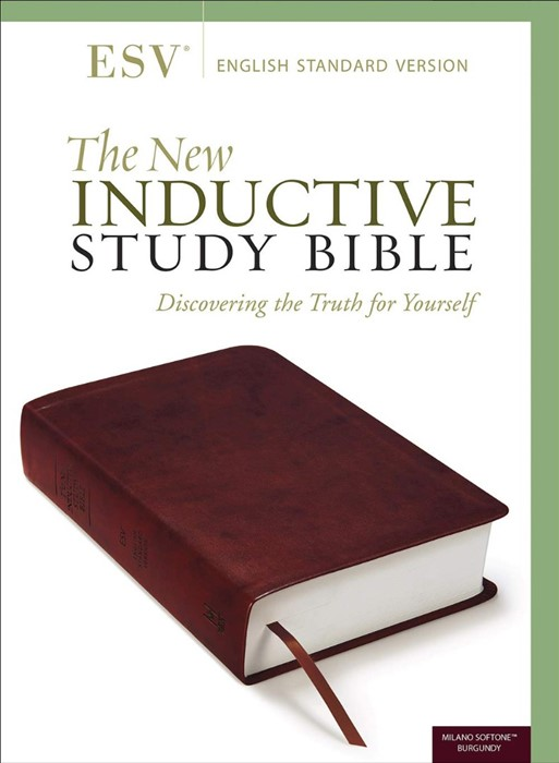 The New Inductive Study Bible (ESV) (Imitation Leather)