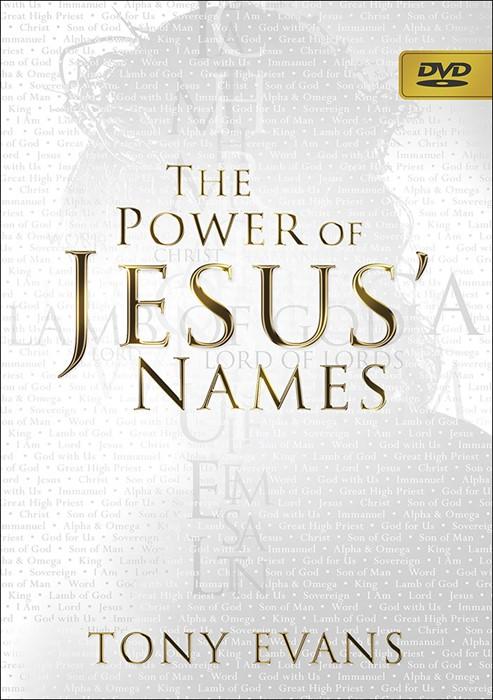 The Power of Jesus' Names DVD (DVD)