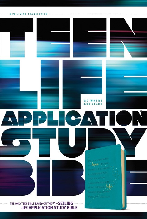Teen Life Application Study Bible NLT (Leather Binding)