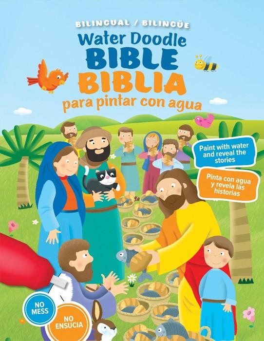 Water Doodle Bible / Biblia de pintar con agua (bilingual) (Board Book)