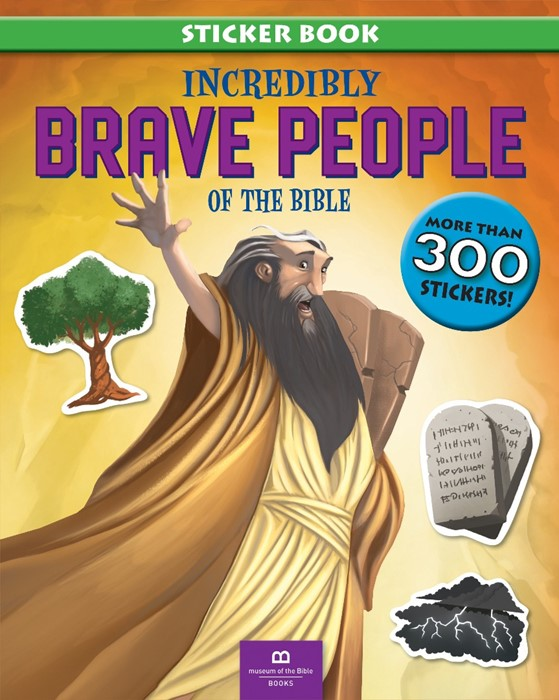 Incredibly Brave People of the Bible (Paperback)