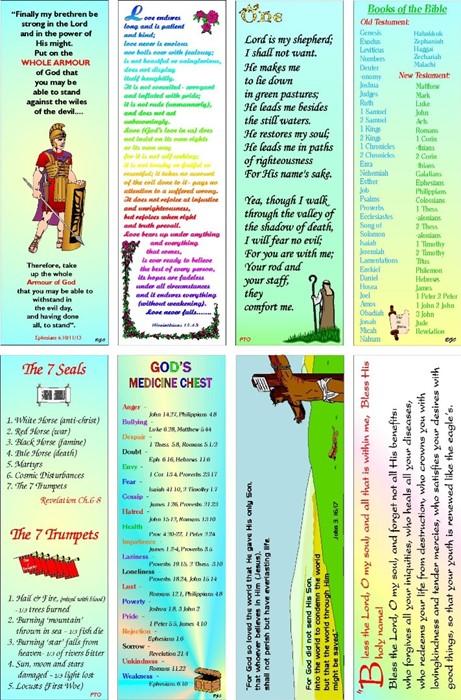 9 Assorted Bookmarks (Bookmark)