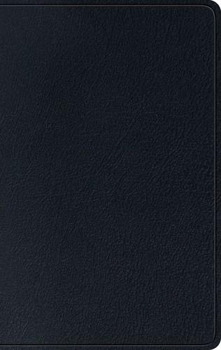 ESV Single Column Thinline Bible, Black (Genuine Leather)