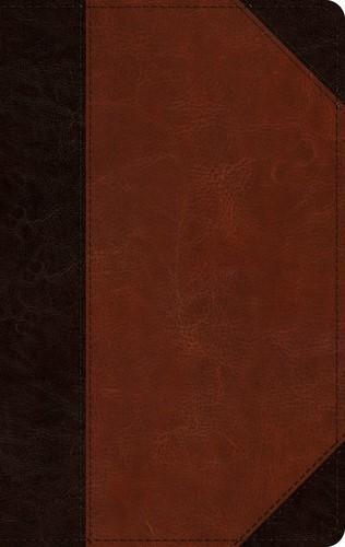 ESV Single Column Thinline Bible, TruTone, Brown/Cordovan (Imitation Leather)
